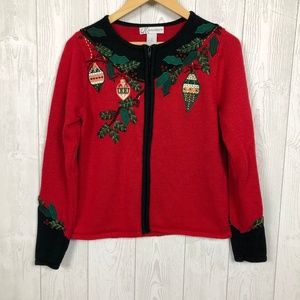 Dressbarn Ugly Christmas Sweater Size S